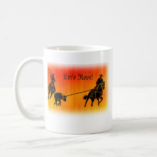 Team Ropers 202 Coffee Mug