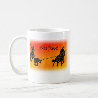 Team Ropers 202 Coffee Mug
