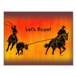 Team Ropers 202 Invitation