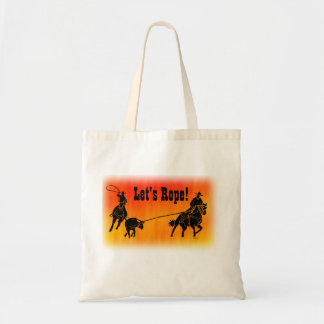 Team Ropers 202 Tote Bag