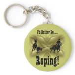 Team Ropers 203 Keychain