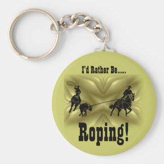 Team Ropers 203 Keychain