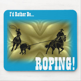 Team Ropers 203 Mouse Pad