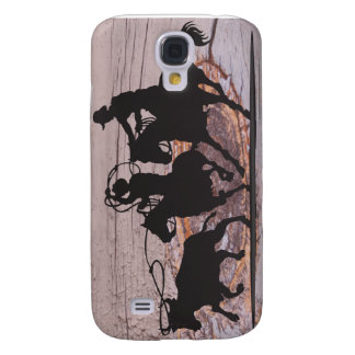 Team Roping  Samsung Galaxy S4 Cover