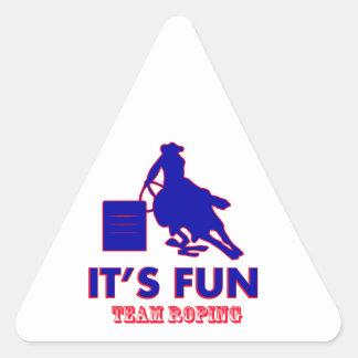 team roping Designs Stickers