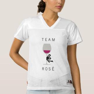 Team Rose Pink Wine Glass