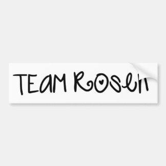 Team Rosen Bumper Sticker