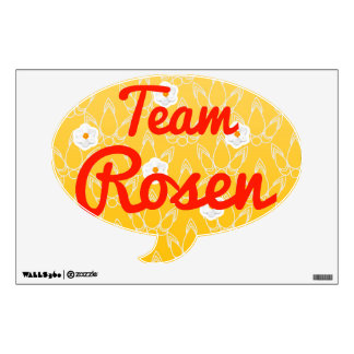 Team Rosen Room Stickers