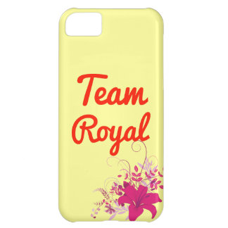 Team Royal iPhone 5C Covers