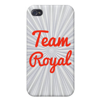 Team Royal iPhone 4 Cover