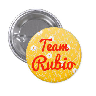 Team Rubio Pinback Button