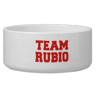 TEAM RUBIO.png Dog Water Bowl