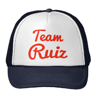 Team Ruiz Trucker Hat