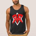 Team RUKUS Logo Tank Top (Black DELUXE w/ slogan)
