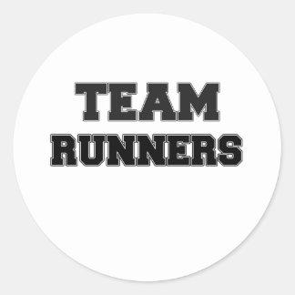 Team Runners Stickers