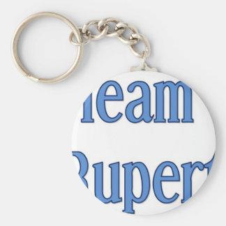 Team Rupert Basic Round Button Keychain