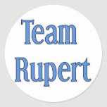 Team Rupert Classic Round Sticker