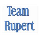 Team Rupert Postcard