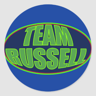 TEAM RUSSELL STICKERS