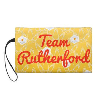 Team Rutherford Wristlet Purse