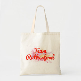 Team Rutherford Canvas Bags