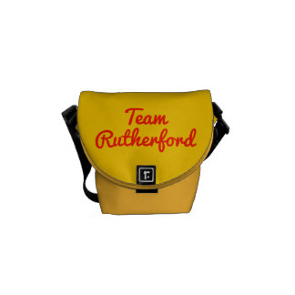 Team Rutherford Messenger Bags
