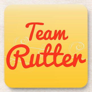 Team Rutter Drink Coasters
