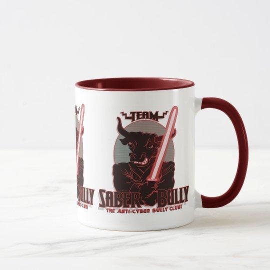 Team Saber Bully Anti- Cyber Bullying Club Mug
