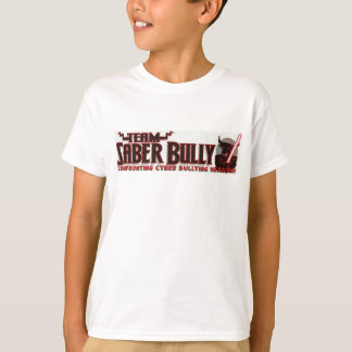 Team Saber Bully Anti- Cyber Bullying Club T-Shirt