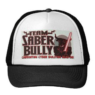 Team Saber Bully Anti- Cyber Bullying Club Trucker Hat