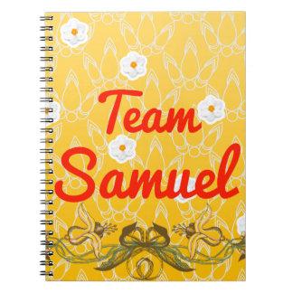 Team Samuel Spiral Notebook