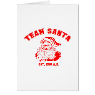 Team Santa Cards