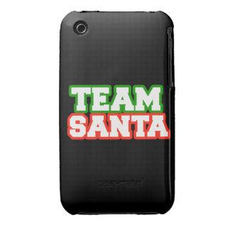 Team Santa iPhone 3 Case-Mate Case