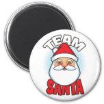 Team Santa Fridge Magnets