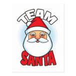 Team Santa Postcard