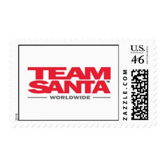 team santa stamp