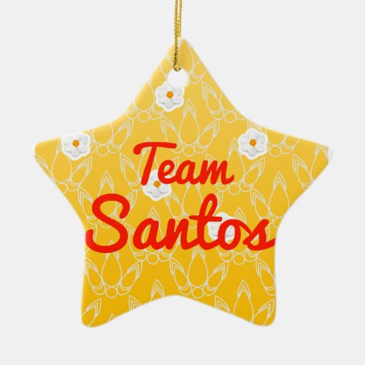 Team Santos Ornament