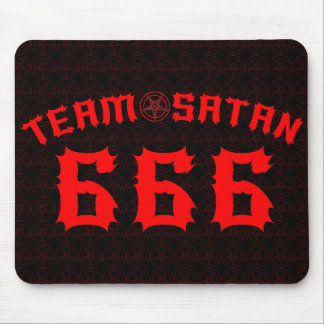 Team Satan 666 Mouse Pad