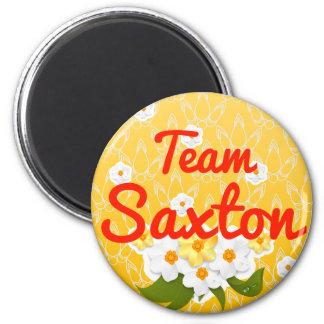 Team Saxton Fridge Magnet