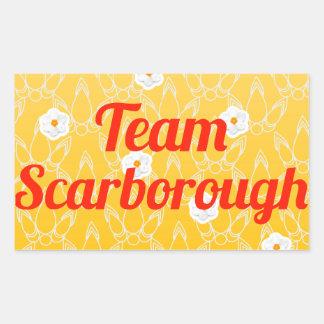Team Scarborough Rectangular Sticker