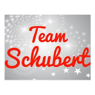 Team Schubert Postcard