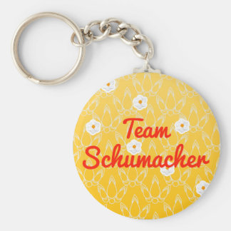 Team Schumacher Keychain