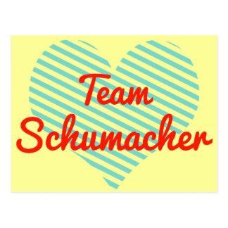 Team Schumacher Post Card