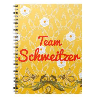 Team Schweitzer Spiral Notebook