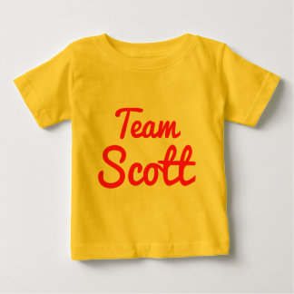 Team Scott Baby T-Shirt
