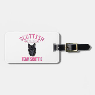 TEAM SCOTTIE TAGS FOR LUGGAGE