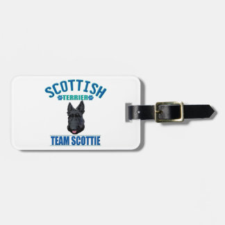 TEAM SCOTTIE TAG FOR BAGS
