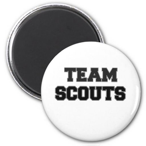 Team Scouts Refrigerator Magnet