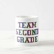 Team Second Grade, Back To School Coffee Mug
