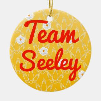 Team Seeley Christmas Tree Ornament